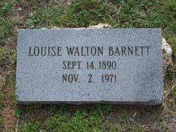 Louise <I>Walton</I> Barnett