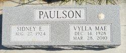 "Sidney E ""Bud"" Paulson, Jr"
