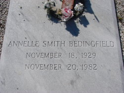 Annelle <I>Smith</I> Bedingfield