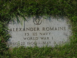 "Alexander ""Alex"" Romaine"