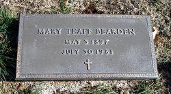 Mary Elizabeth <I>Teaff</I> Bearden