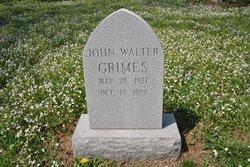 John Walter Grimes