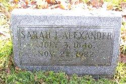 Sarah I. Alexander