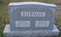 Mary H <I>Hershberger</I> Bowman