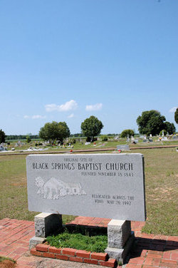 Black Springs Baptist Church Cemetery
