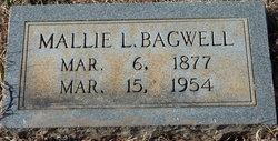 Mallie Eugenia <I>Lollis</I> Bagwell