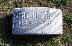 """Frances """"Fannie"""" <I>Fargis</I> Pritchett"""
