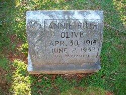 Annie Ruth Olive