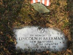 Pvt Lincoln Herbert Akerman