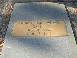 Addie <I>Crosby</I> Carter