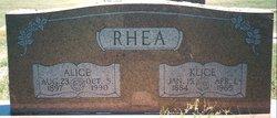 "Buford Klice ""B. K."" Rhea"