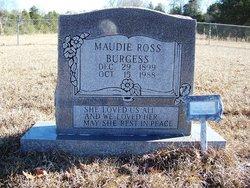 Maudie Lee <I>Ross</I> Burgess