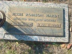 Jessie Gilbert <I>Robison</I> Hardy