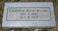 Catherine <I>Dunn</I> Bolling