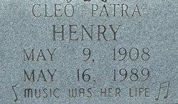 Cleo Patra Henry