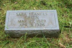 Sara Frances <I>Mangrum</I> Green