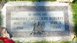 Dorothy Cavalliere Roberts