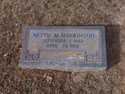 "Antoinette Rebecca ""Nettie"" <I>McClendon</I> Hankinson"