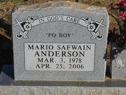 Mario Safwain Anderson