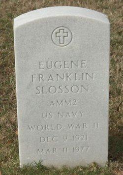 Eugene Franklin Slosson