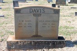 Lela Jane <I>Jones</I> Davis