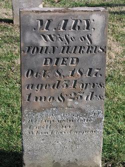 Mary <I>Justice</I> Harris