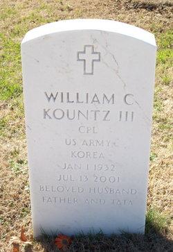 Corp William C. Kountz, III