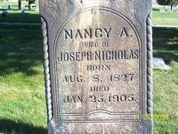 Nancy <I>Allen</I> Nicholas