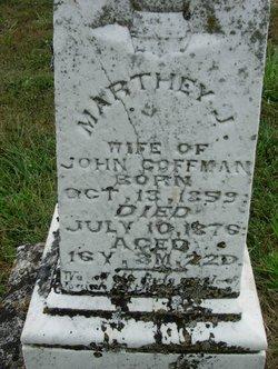 "Martha J. ""Marthey"" <I>McGraw</I> Coffman"