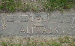 Harold Duffman Althaus