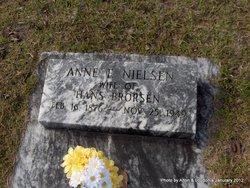 Annie F. <I>Nielsen</I> Brorsen