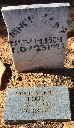 Minnie <I>Murphy</I> Long