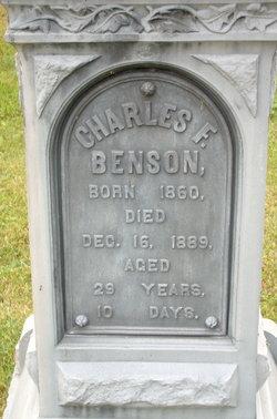 Charles F Benson