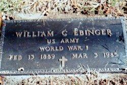 William C. Ebinger