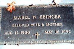 Mabel Nettie <I>Stowe</I> Ebinger