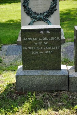 Hannah L. <I>Billings</I> Bartlett