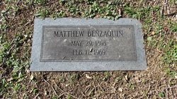 Matthew Benzaquin