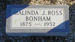Malinda Jane <I>Clifton</I> Ross Bonham