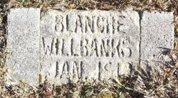 Blanche Willbanks