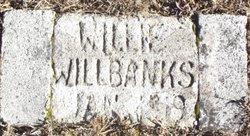 William Andrew Willie Willbanks, Jr