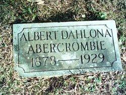 Albert Dahlona Abercrombie