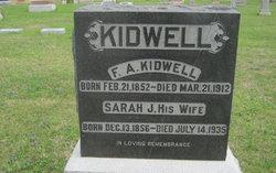 Sarah Josephine <I>Fuqua</I> Kidwell