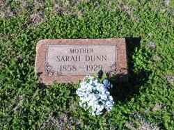 Sarah E. <I>Bledsoe</I> Dunn