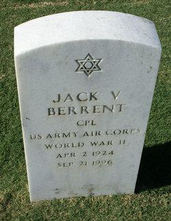 Jack V Berrent