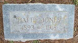 Hattie Florence <I>Sims</I> Jones