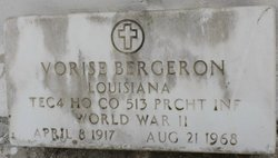 Vorise Bergeron