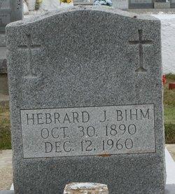 """Hebrard J. """"Abraham"""" Bihm"""