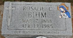 Rosalie <I>Chachere</I> Bihm