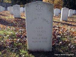 Pvt John F. Adams