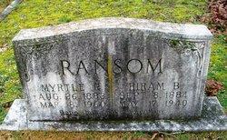 Hiram Bruce Ransom